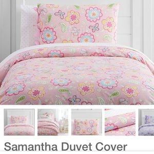 Pottery Barn Kids Bedding Pottery Barn Girls Samantha Duvet Cover
